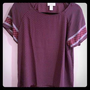 Loft silk blouse
